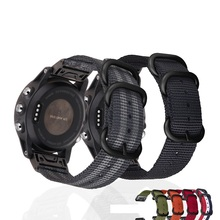 For Garmin Quick Fit 26mm/22/20mm NATO Nylon Watch Band Strap for Garmin Fenix 5s 5/5 Plus/Fenix 5X/Fenix 3/D2 Delta PX