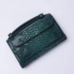 Factory Outlet! Saudi Arabian estilo luxo de Embreagem de Couro Genuíno pequenos sacos de Crocodilo padrão de Ombro Saco Crossbody para As Mulheres