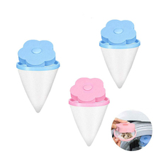 3Pcs/set Washing Machine Filter Bag Hair Remover Floating Universal Net Removal Decontamination Laundry