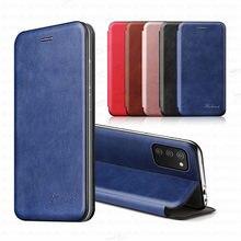 Para samsung a02s caso de couro luxo caso da aleta magnética para samsung galaxy a02s a 02s SM-A025F/ds suporte carteira telefone capa coque
