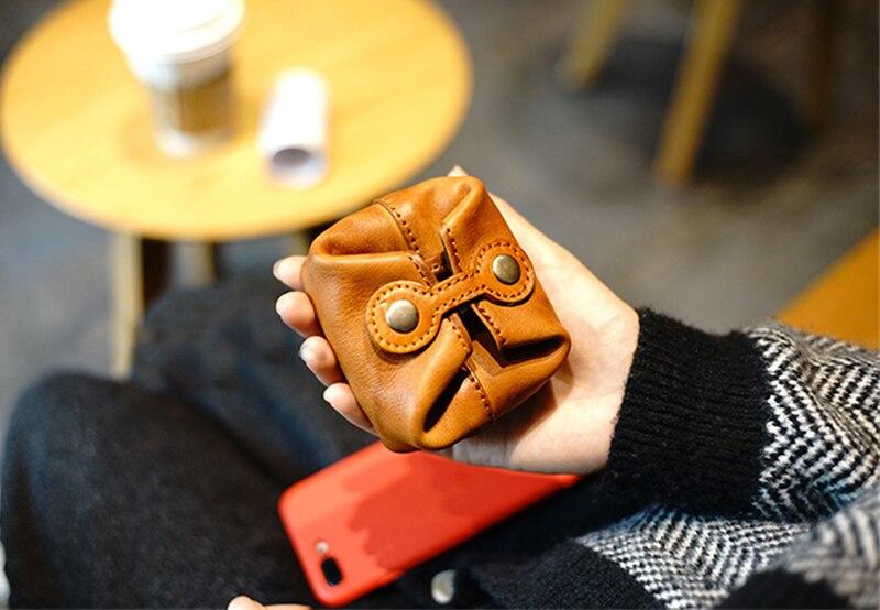 mudança bolsa moeda saco de dinheiro roxo