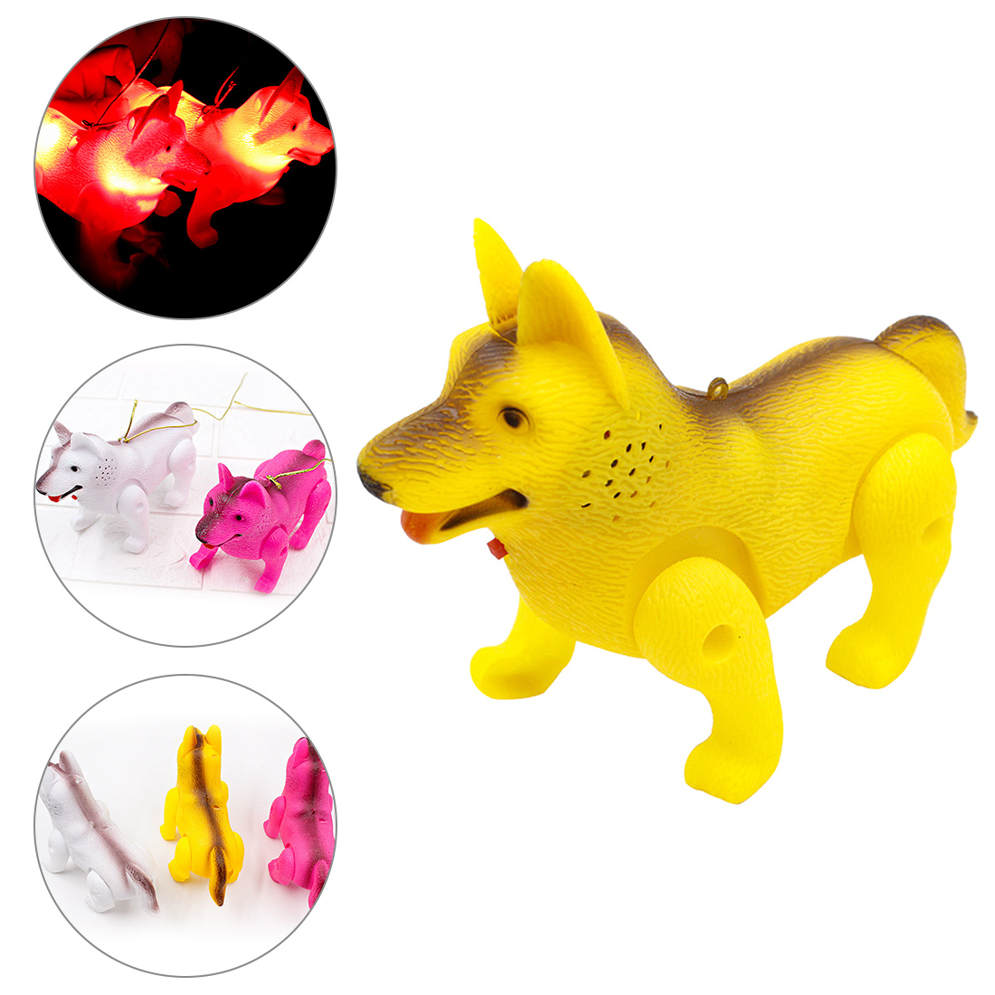 LED Light Luminous Music Electric Walking Dog Educational Toys For Kids Child Gift Electronic Pet Funny Robot Dog Children Toys