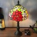 12 дюймов Тиффани настольная лампа витраж европейский барокко классический для гостиной E27 110-240 В