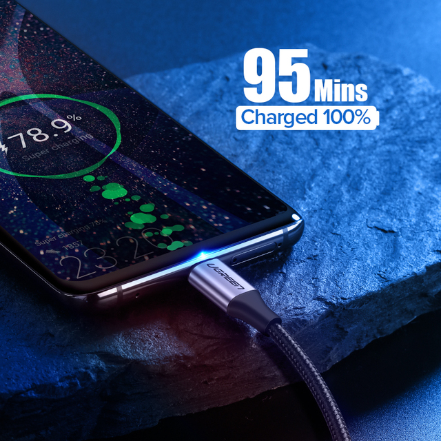 UGREEN USB C Cable for Xiaomi Redmi Note 10 USB Type C 3A Fast Phone Charging Cord for Huawei P40 Pro Type C Charger Cable USB C 2