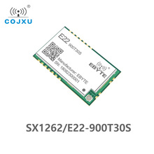 5pcs/lot SX1262 1W UART LoRa TCXO 915mhz Module E22 900T30S Wireless Module 868MHz Long Range IoT SMD IPEX Interface transmitter