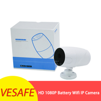 1080P IP65 Waterproof Wireless Battery IP Camera Infrared Night Version PIR M-otion Detection Home WIFI Camera Baby Monitors