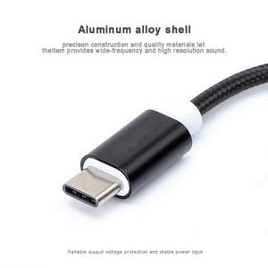4 цвета адаптер для наушников Type C-3,5 USB 3,1 Type-C USB-C Male 3,5 мм AUX аудио Jack кабель конвертер адаптер для наушников