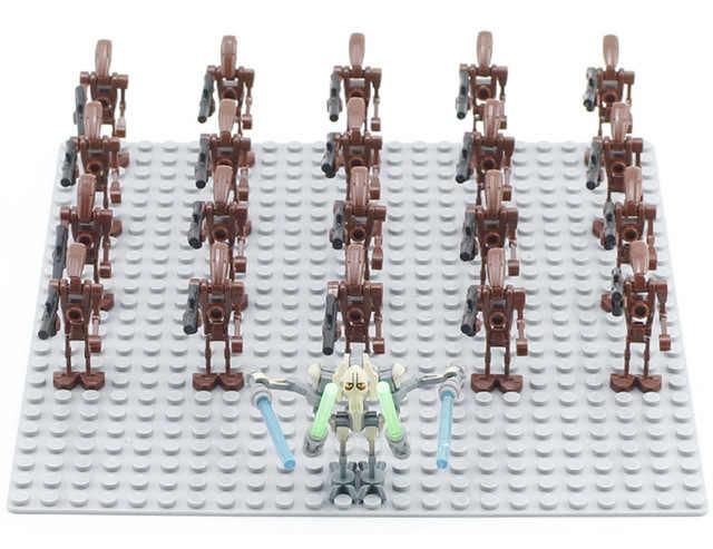21PCS Storm trooper Clone trooper Imperiale Inquisitore Il Primo Ordine Ufficiale Blocchi di Costruzione Giocattoli
