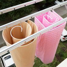 QDRR круглая спиральная Стандартная вешалка из нержавеющей стали вращающаяся сушилка экономное пространство вешалка для одеял наружная дом...
