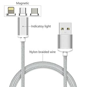 Image 3 - USB Magnetic Cable Fast Charging USB Type C Magnet Charger Data Charge Micro USB Cable Mobile Phone Cable USB Cord