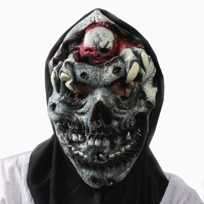 Halloween Masks Scary 2019 Cosplay Mask Latex Bloody Face Off Horror Halloween Costume Mask K923