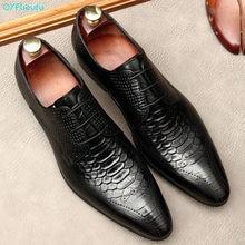 Итальянские Мужские модельные туфли; Мужские оксфорды из натуральной кожи на шнуровке; Черные официальные офисные туфли; Вечерние мужские ...