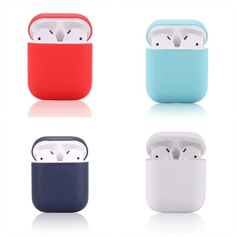 Teyomi Soft Protective Earphone Silicone Cover Case For Apple Airpods Case Cover