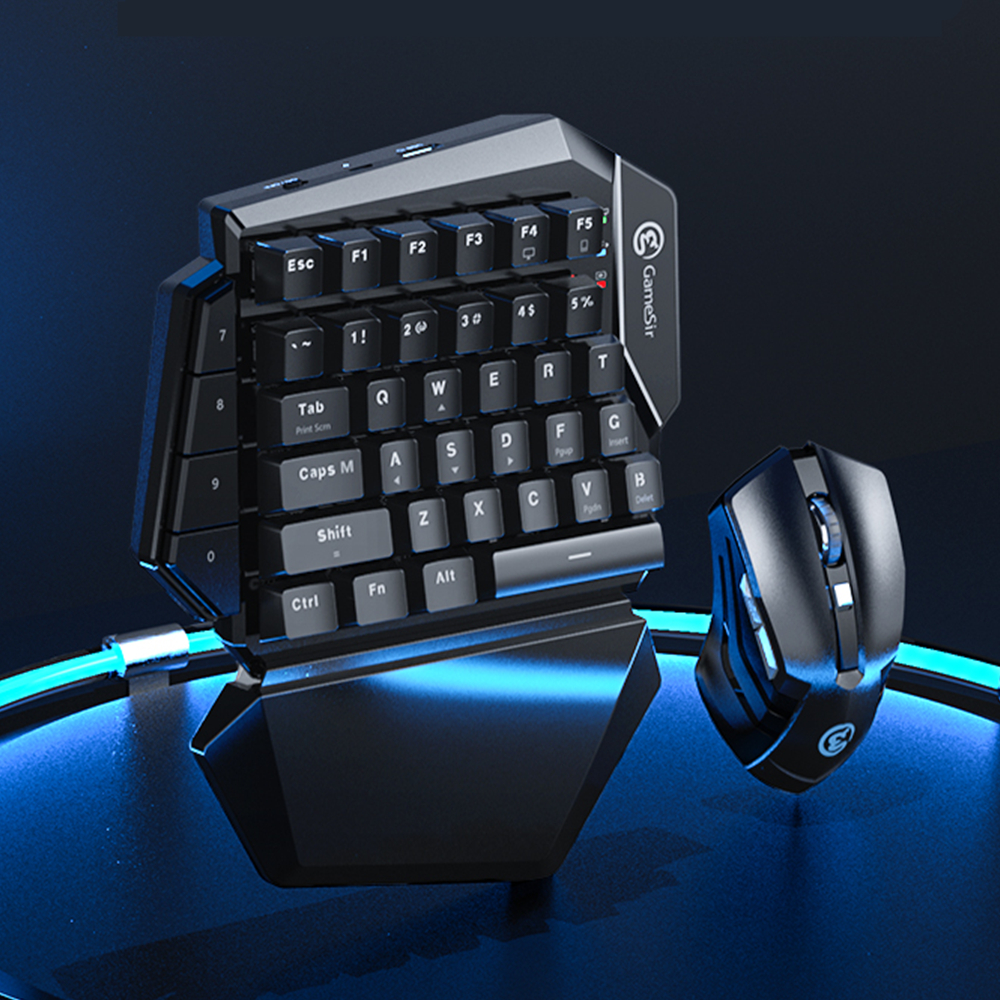 GameSir Z2 Wireless Game Keyboard and Mouse Combo 2.4GHz Wireless & Bluetooth Gaming Keypad for Android Phone and Windows PC|Gamepads| - AliExpress