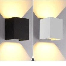 Открытый светильник ing водонепроницаемый поверхностный монтаж светодиодный настенный светильник современный скандинавский светильник для помещений настенные лампы для гостиной крыльца для улицы