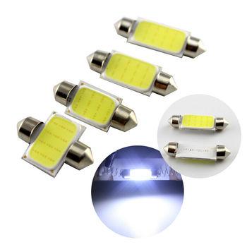 Biały 31mm 36mm 39mm 41mm Festoon COB 12SMD żarówki LED wnętrza samochodu kopuła mapa światła 12V tanie i dobre opinie Lampki do czytania montaż CN (pochodzenie) WHITE 3inch Iso9001 6000K 0 08 12 v Does Not Apply China 1 year 8000K FS-COB-12SMD