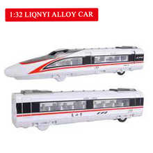 2pcs/lot Alloy Train Model High-speed Rail Subway Pull Back Magnetic Kids Toys Car Model Toy Track Train Toys for Children стоимость