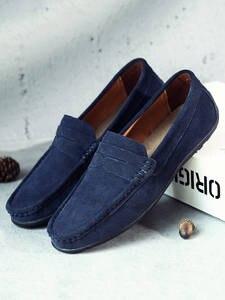DEKABR Shoes Men Flats Loafers Spring Lightweight Genuine-Leather High-Quality Summer