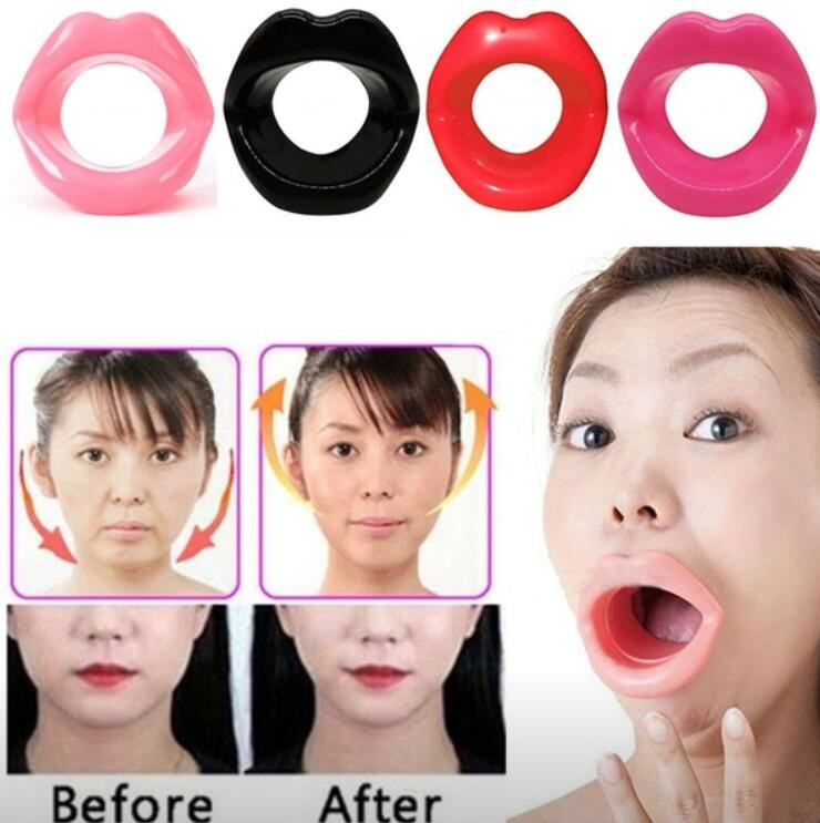 Lips Massage Slim Exerciser Silicone Anti Aging Face Slimming Anti Cellulite Wrinkle Rermoval Women Lip Muscle Trainer Device