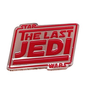 The Last Jedi Enamel Pin space opera Brooch wars episode Badge Science Fiction Novel & Movie Jewelry image