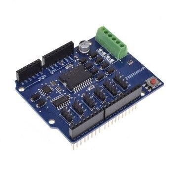 цена на L298N L298P R3 DC Motor Driver Module Motor Shield R3 5V 12V 2A H-Bridge 2 way For Arduino UNO 2560 diy electronics