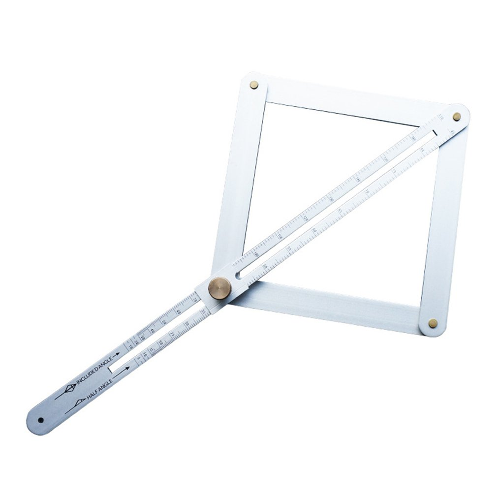 Metal Artifact Square Conveyor Tool Angle Ruler Finder Instrument Conveyor Angle Goniometer