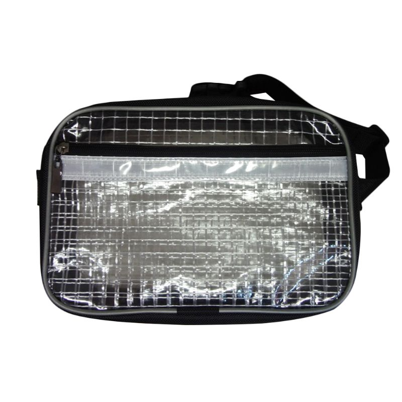 Anti-Static Cleanroom Clear Tool Bag Full Cover Pvc For Engineer Waist Bag Fanny Pack F42A
