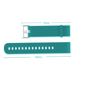 Image 2 - BOORUI Silicone Strap for huami  Amazfit Bip  PACE Lite Smartwatch Bracelet Smart Watch Accessories  with fashional colors