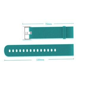 Image 2 - BOORUI pasek silikonowy do huami Amazfit Bip tempo Lite bransoleta ze smartwatchem akcesoria do inteligentnego zegarka z modnymi kolorami