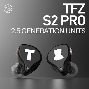 TFZ S2 PRO Dynamic Driver Hybrid In-ear Earphone HIFI Monitor Earbuds Earphones Detachable 0.78mm PIN PK TFZ T2 MY LOVE EDITION