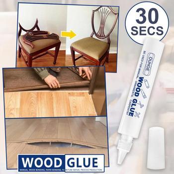 Wodoodporne drewno klej drewniany klej klej klej ceramiczny drewno klej do naprawy mocny klej szybki klej błyskawiczny klej sprzętowy tanie i dobre opinie CN (pochodzenie) Woodworking Uszczelniacz silikonowy Wood Glue Waterproof Wood Glue 11 9*1 5cm Manual Wood Bonding Paper Bonding Furniture Repair