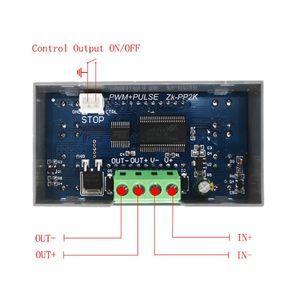 Image 4 - ZK PP2K PWM DC سرعة المحرك تحكم التردد واجب دورة منظم قابل للتعديل التبديل LED باهتة الرقمية نبض سائق 2 طرق