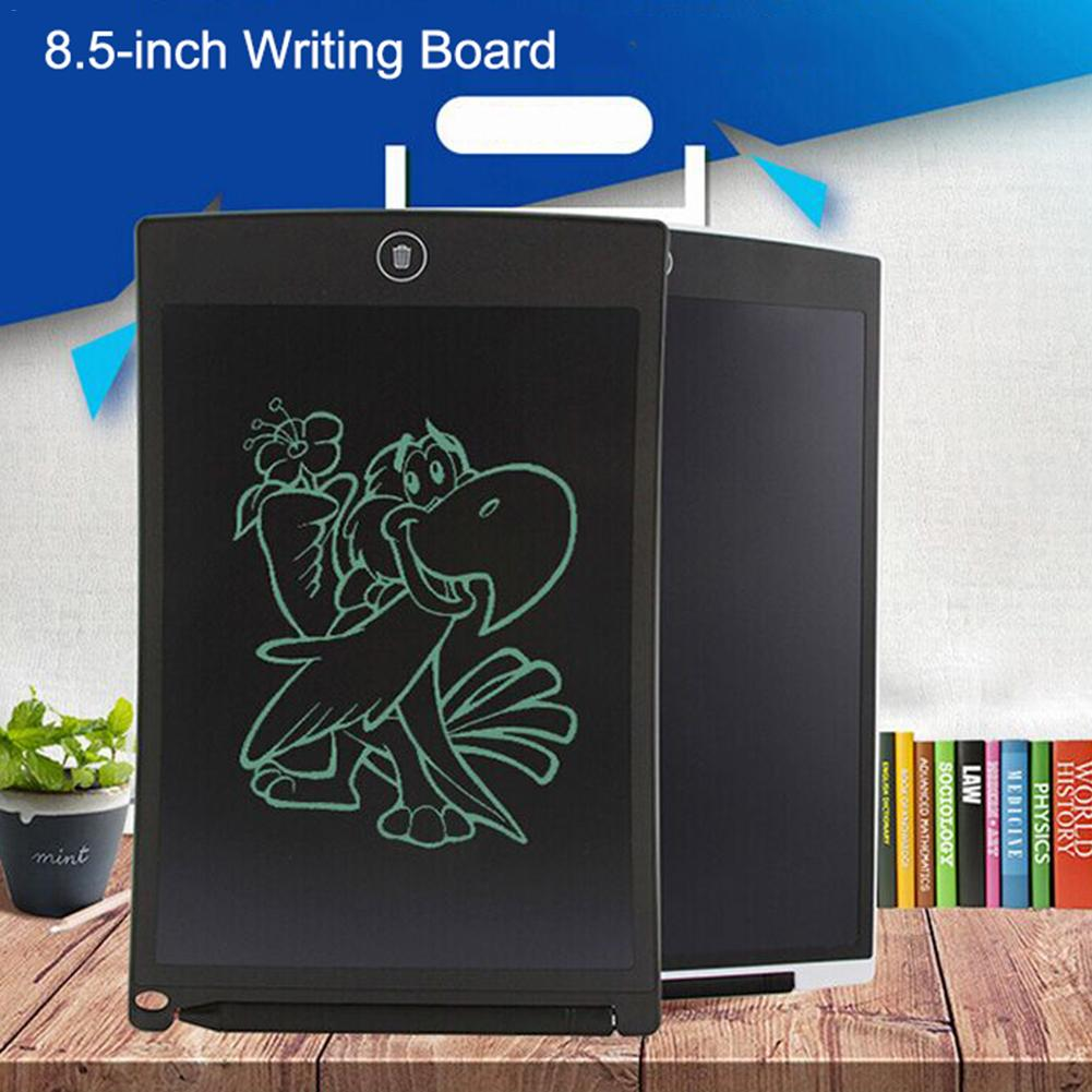 8.5 Inch Writing Tablet Board With LCD Crystal Display - Painting Tools For Children's Puzzle And Working Notepad For Office