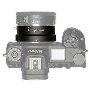 Image 5 - Fringer EF NZ Anello Adattatore Fotocamera EFS NZ Messa a Fuoco Automatica Af Adattatori per Obiettivi Fotografici per Canon Ef Lens per Nikon Z6 Z7 Z50 EF NK Z Montaggio