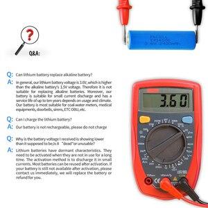 Image 5 - 10Pcs 3.6V ER14505 14505 2400mah AA LiSCLO2 Battery Superior LR6 R6P 1.5V Batteries For GPS Tracking Cameras Memory backup