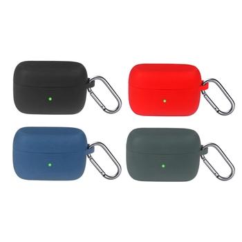 Odporne na kurz silikonowe etui ochronne powłoki Antifall etui na słuchawki do-obsługi Jabra Elite 85t oryginalne słuchawki bezprzewodowe Bluetooth słuchawki douszne tanie i dobre opinie OOTDTY CN (pochodzenie) Przypadki