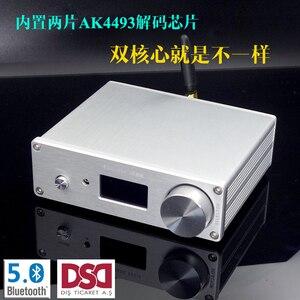 Image 3 - SU9 2 * AKM4493EQ DSD Bluetooth 5.0 QC3003 USB קואקסיאלי סיבי משולב מפענח DAC