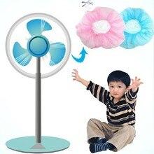 Электрический Чехлы для вентиляторов пылевой фильтр вентилятора-защитная сетка крышка вентилятора набор детской напальчник Защитная крышка 11 г