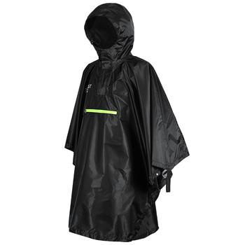 Peleryna przeciwdeszczowa mężczyźni kobiety płaszcz przeciwdeszczowy płaszcz przeciwdeszczowy rowerowy płaszcz przeciwdeszczowy odzież przeciwdeszczowa z odblaskiem Poncho przeciwdeszczowe z pasek odblaskowy tanie i dobre opinie CN (pochodzenie) RainWear rain cape poncho rain men s raincoat Woman raincoat rain coat Single-osoby przeciwdeszczowa