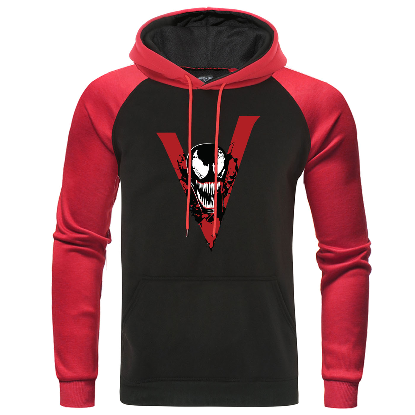 Venom Hoodies Men Fashion Sweatshirts Superhero Raglan Pullover Mens Autumn Winter Hoodie Streetwear Marvel Casual Tracksuit