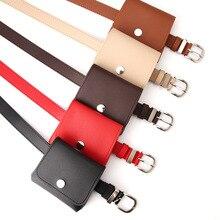 Belt-Bag Chest-Belts Shoulder Fashion Women Ring Messenger PU Wholesale Pure-Color New