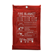 Fire-Blanket Fire-Extinguisher Fiberglass Home-Safety Kitchen SHELTER-COVER Emergency-Survival