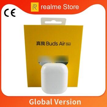 Перейти на Алиэкспресс и купить Беспроводные наушники Global Verison realme Buds Air Neo Bluetooth 5,0 TWS True Wireless R1 Chip для realme X2 X50 Pro 6 6i 6 Pro