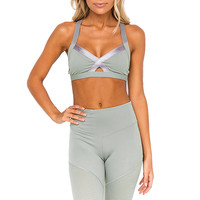 Women's Moisturizing And Sweating Seamless Sports Bra High Impact Active Wear Yoga Bra Fitness Workout Bra Crop Top