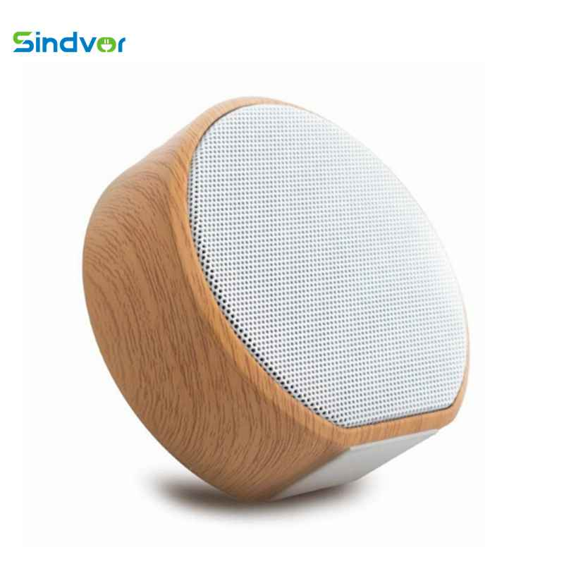 Wood Altavoz Bluetooth Speaker Portable Subwoofer Wireless Mini Bluetooth Sound Box Support AUX TF Card USB for iPhone Android-in Portable Speakers from Consumer Electronics