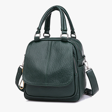Women Leather Backpacks New Fashion Shoulder Bag Female Backpack Ladies Travel Backpack Mochilas Small School Bags for Girls Sac цена 2017