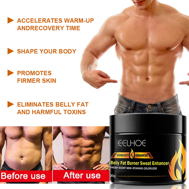 20g Abdominal Muscle Cream Anti Cellulite Slimming Fat Burning Cream Body Firming Strengthening Belly Muscle Tightening 4