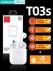 Joyroom Earbud HIFI Headset Noise-Cancelling Bluetoothearphone TWS Sport Newest-Version