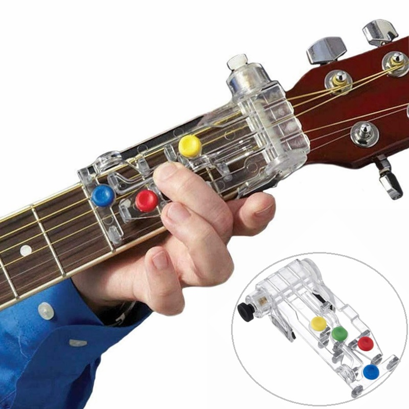 Classical Guitar Chordbuddy Luckysoul Teaching Aid Guitar Learning System Practice Aid Accessories For Guitar Learning