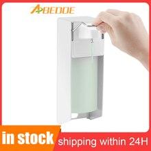 מתקן חיטוי 500ml קצר מנוף פלסטיק משאבת מרפק סבון dispenser Sanitizer עבור חולים אזורים